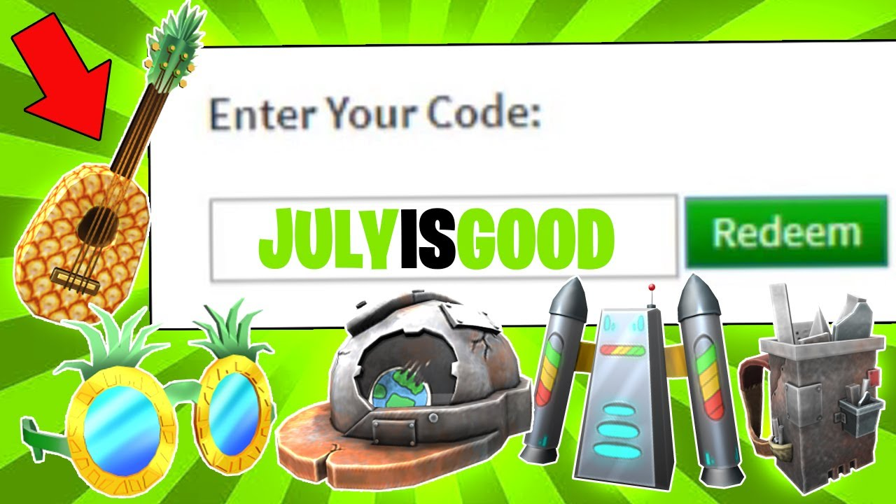 July List Of Working Promo Codes And Free Items On Roblox For