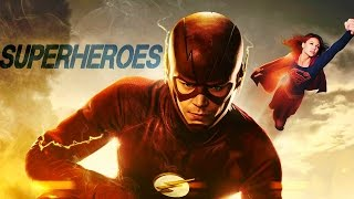 The Flash & Supergirl/ Barry & Kara | Superheroes