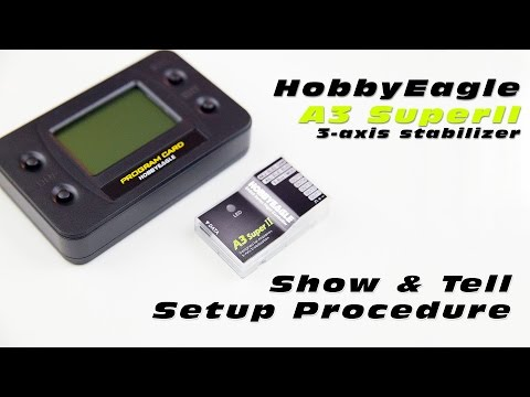 DutchRC - HobbyEagle A3 Super II 3-Axis Stabilizer - How to install & Setup