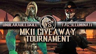 Mortal Kombat X: T7G Illuminati vs Unbearableskill - MK11 Copy Tournament Give Away (INSANE MATCH!)