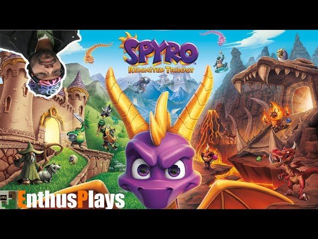 Spyro Reignited Trilogy (Xbox One) - EnthusPlays