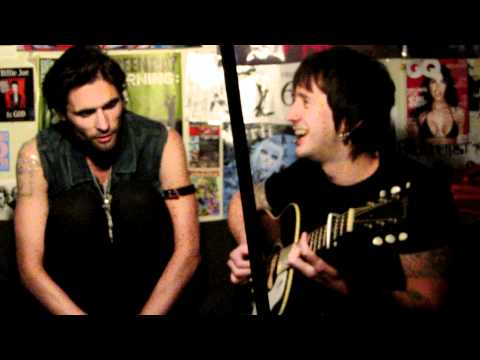 "The All-American Rejects Performing ""Gives You Hell"" Acoustic On Live With DJ Rossstar"