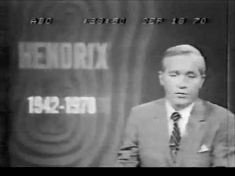 jimi hendrix death 1970 abc news announcement rockspots youtube. Black Bedroom Furniture Sets. Home Design Ideas