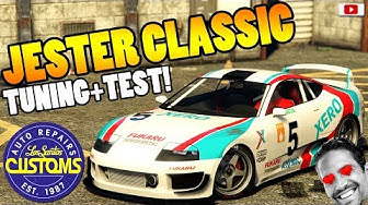 😍😭PAUL WALKERS AUTO! JESTER CLASSIC Tuning+Test!😍😭[GTA 5 Online After Hours Update DLC]