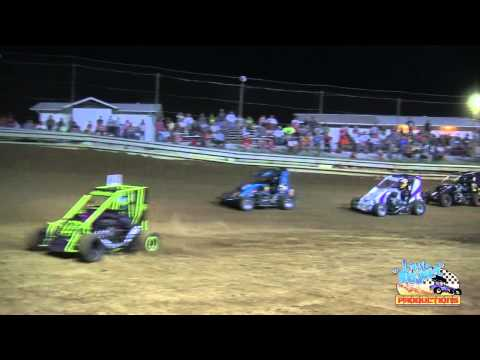Non-Wing Outlaw Micro Sprints A-Main | Southern Illinois Raceway | June 9th, 2012