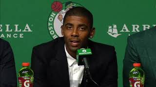 Kyrie Irving says