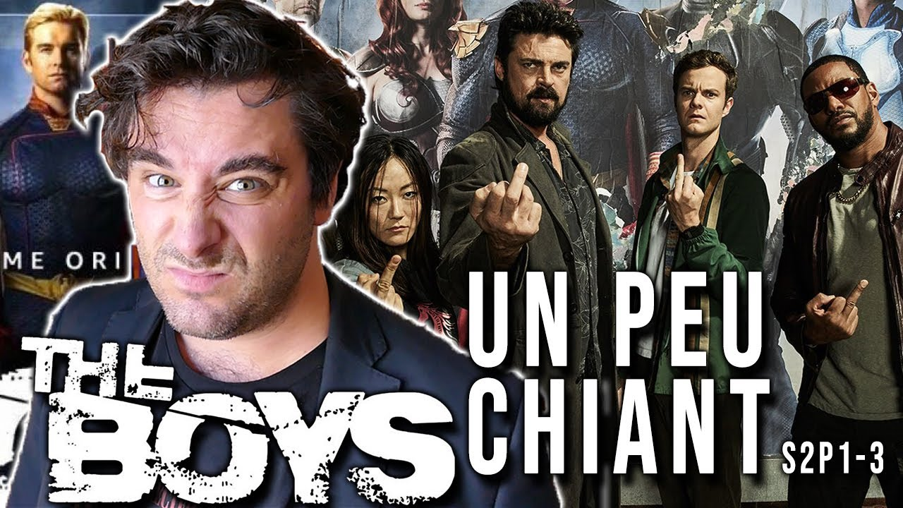 THE BOYS SAISON 2 - CRITIQUE DES 3 PREMIERS EPISODES !