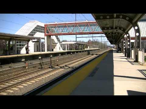Hamilton, NJ Station - 3 Train meet and a SAACH!