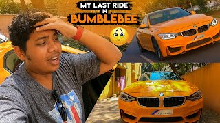 Last Ride in My Bumble Bee🥺 - Last Vlog - Irfan's View