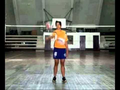การฝึกกีฬาวอลเล่ย์บอลขั้นพื้นฐาน 5
