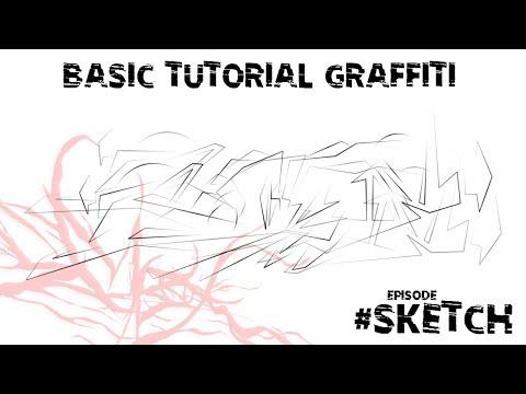 Basic Tutorial Graffiti Part 1 #Sketch thumbnail