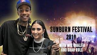 Raja Kumari | Performing with Wiz Khalifa and Shah Rule at Sunburn Festival 2019
