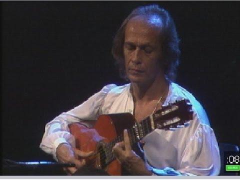 Paco de Lucía interpreta a Manuel de Falla