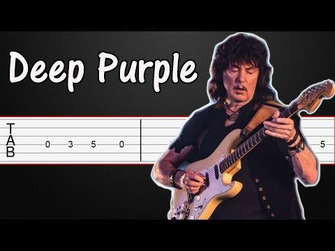 Sail Away - Deep Purple Guitar Tabs, Guitar Tutorial, Guitar Lesson (Riff + Solo)