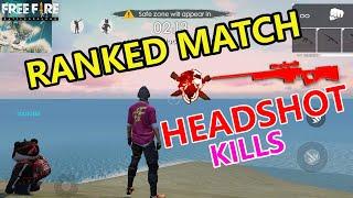 Ranked Match Headshots Kills | Garena Free Fire |