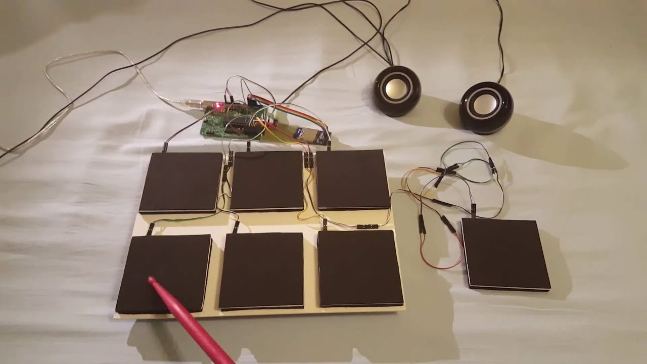 Diy electronic drum pad version 1 youtube solutioingenieria Images