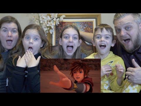 Kingdom hearts 3 Reaction