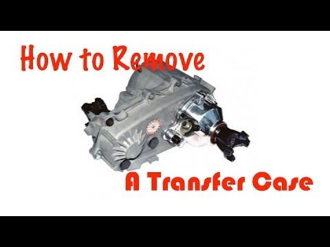 How To Remove A Transfer Case Youtube