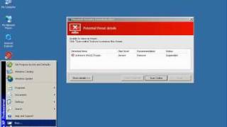 Remove Fake Microsoft Security Essentials Alert trojan
