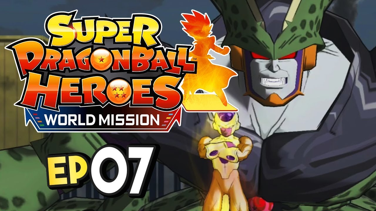 Super Dragon Ball Heroes World Mission Part 7 Cell X Gameplay Walkthrough
