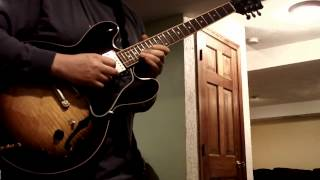 Sixty Second Jams #3 - Cream - Badge - Eleven Rack - Gibson ES 335 - BOSS RC50 - BOSS BR800