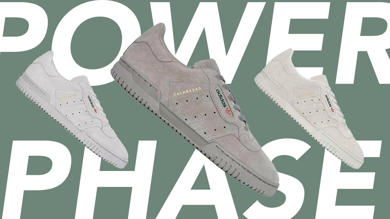 THE ADIDAS YEEZY POWERPHASES ARE BACK!!