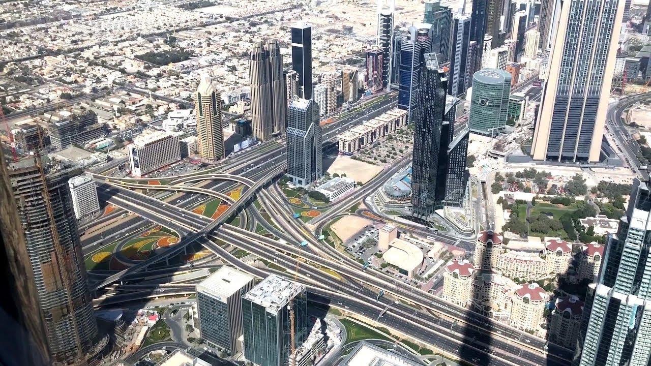 Top Burj Khalifa 124 Floor