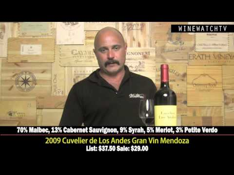 Cuvelier de Los Andes Gran Vin Mendoza - click image for video