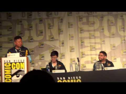 San Diego Comic-con 2015 Street Fighter V panel