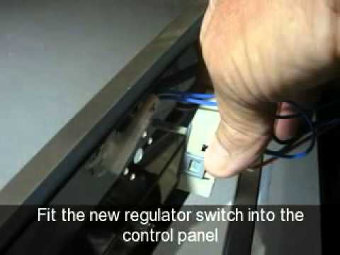 how to change a grill energy regulator switch on an oven ariston how to change a grill energy regulator switch on an oven ariston cannon creda hotpoint indesit