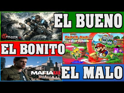¡¡¡GEARS OF WAR 4 Y PAPER MARIO COLOR SPLASH DE SOBRASALIENT