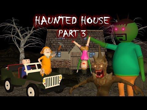 Haunted House Part 3 - Donate Food (ANIMATED IN HINDI) MAKE JOKE