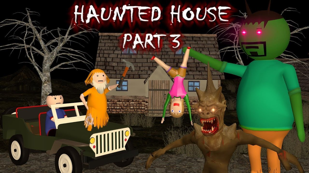 Haunted House Part 3 - Donate Food (ANIMATED IN HINDI) MAKE JOKE HORROR