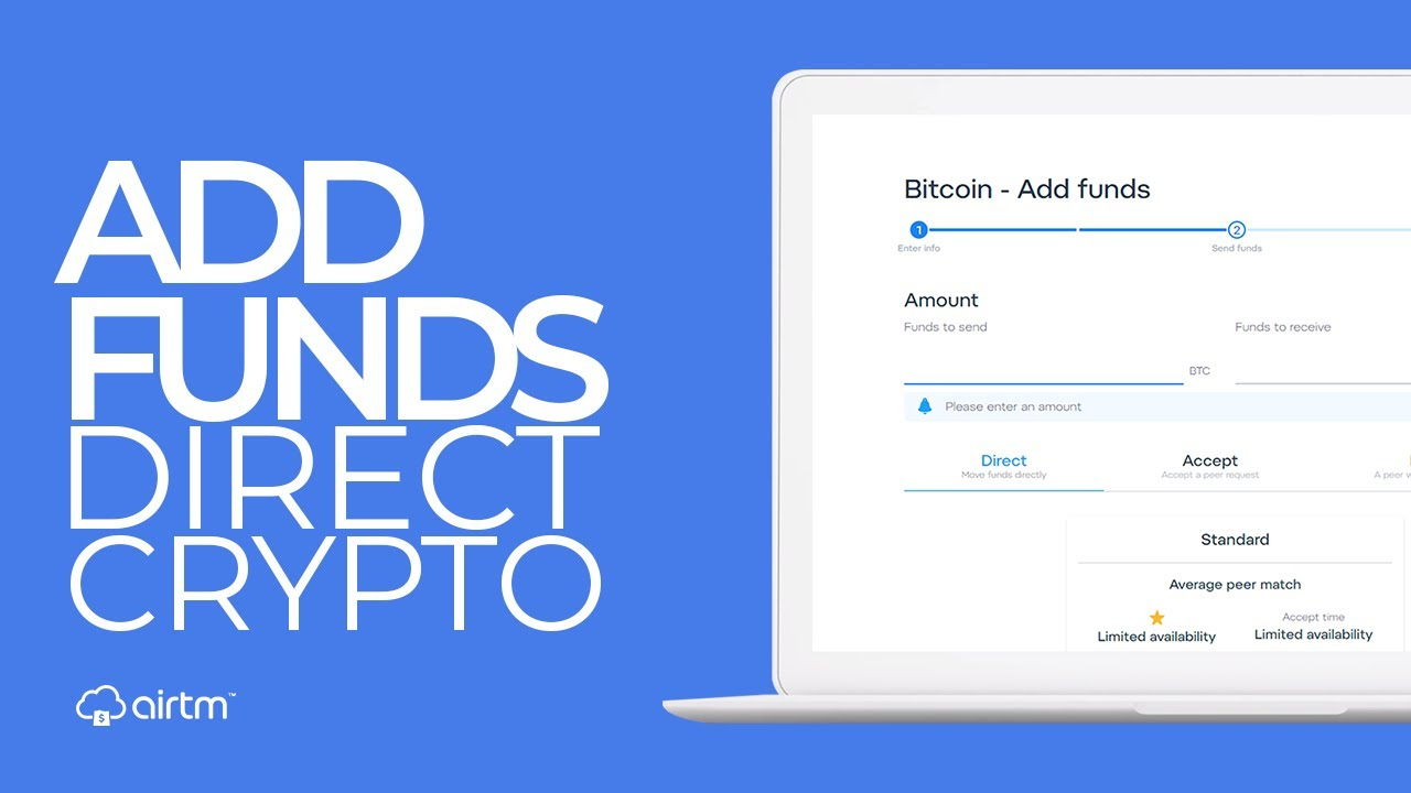 how to add funds to bitcoin