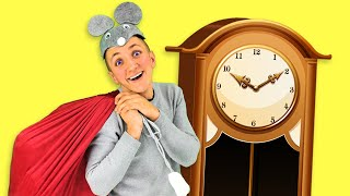 Hickory Dickory Dock Christmas Song for Kids | Nursery Rhymes. Sing Along With Tiki