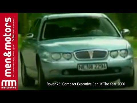 Rover 75: Compact Executive Car Of The Year 2000
