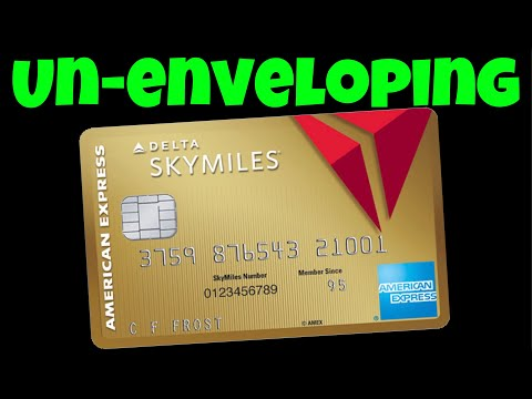 Amex Delta Gold Card  ***My 5th AMEX Card***