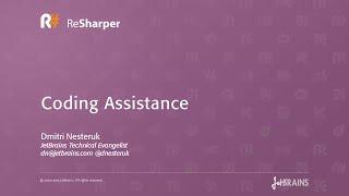 Coding Assistance in ReSharper