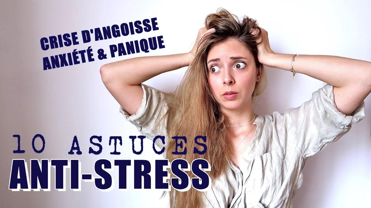10 astuces ANTI STRESS | comment le gérer pour qu'il ne devienne pas mauvais !