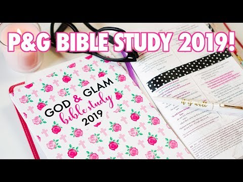 The Paper & Glam Bible Study 2019!