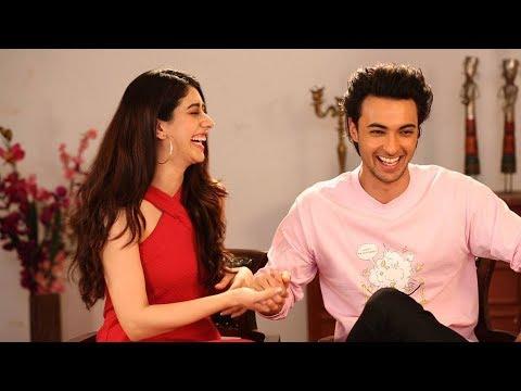 Warina Hussain & Aayush Sharma On Salman Khan, Cricket, Navratri & Love | Loveyatri | Atika Farooqui
