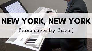 Frank Sinatra - New York, New York (Piano Cover)