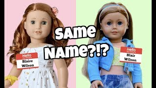 Gambar cover DID AG STEAL MY DOLL'S NAME??! american girl doll stop motion agsm | White Fox Stopmotion