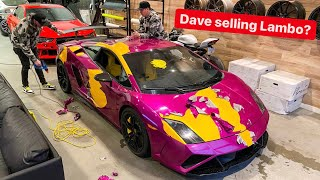 DAVE UNWRAPS HIS RARE LAMBORGHINI... TO BE SOLD FOR HYPERCAR?