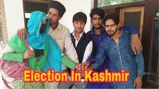 Election In Kashmir: Kashmiri Drama