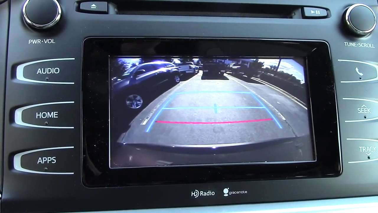 How To Read Backup Camera Color Guidelines Youtube