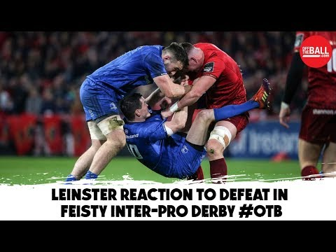 'That's just something that happens in rugby matches'   Sexton unfazed by Munster clashes