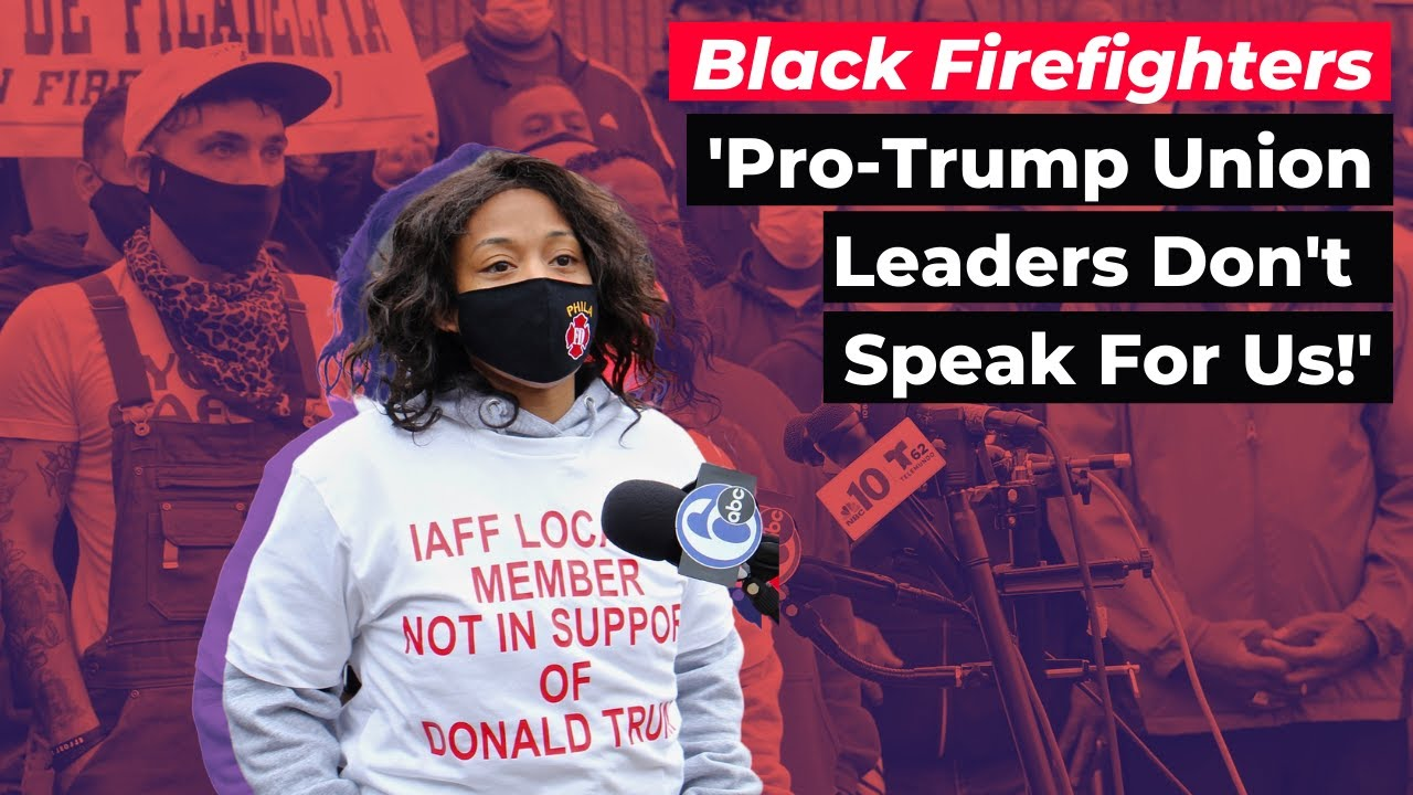 Black Firefighters Rebel Against Pro-Trump Union Pres.