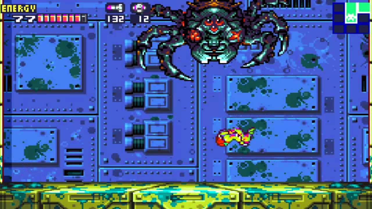 Lets Play Metroid FusionGBA Part 12