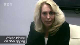 Valerie Plame on Edward Snowden and NSA Spying Revelations | 92Y American Conversation